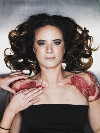 Ramona van Zweden Wagyu vlees op het lijf
