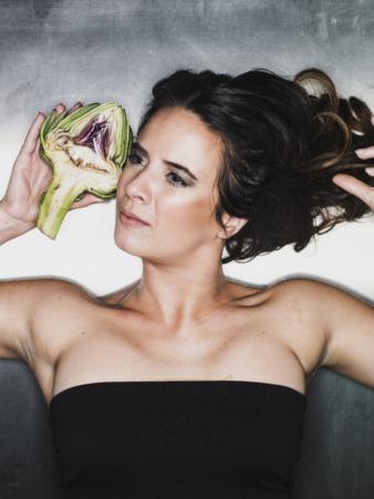Ramona van Zweden groente food presentatrice