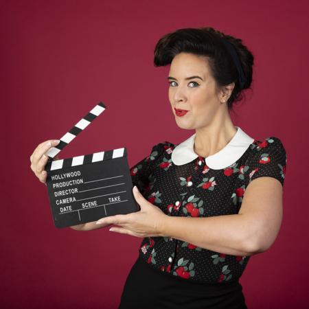 Ramona van Zweden tv-presentatrice wow