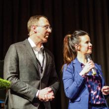 regionale voorzitter ZLTO en Ramona van Zweden