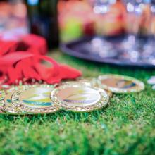Medailles voor winnaars quiz