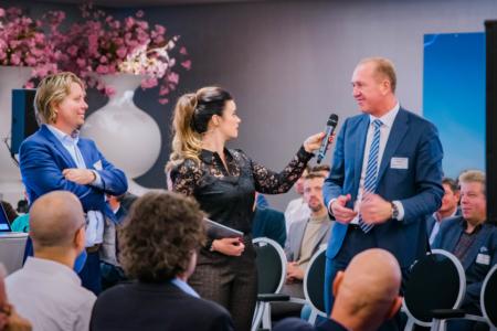 Ramona van Zweden dagvoorzitter in gesprek Van Oeveren en Terberg Benschop