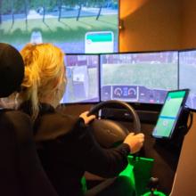 Simulator elektrisch rijden