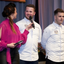 Ramona van Zweden interviewt tijdens Dutch Pastry Award